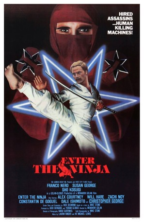 Enter the Ninja - Movie Poster (thumbnail)