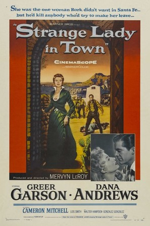 Strange Lady in Town - Movie Poster (thumbnail)