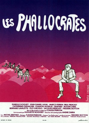 Les phallocrates - French Movie Poster (thumbnail)