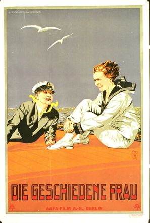 Geschiedene Frau, Die - German Movie Poster (thumbnail)