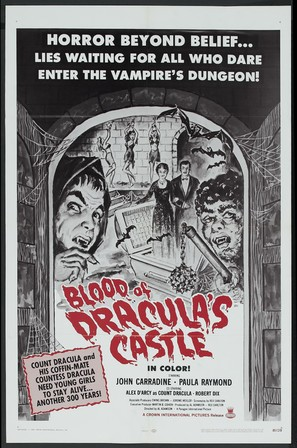 Blood of Dracula's Castle - Movie Poster (thumbnail)