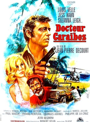 Docteur Caraïbes - French Movie Poster (thumbnail)