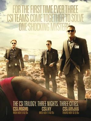 """CSI: Crime Scene Investigation"" - Movie Poster (thumbnail)"