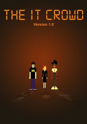 """The IT Crowd"" - DVD movie cover (thumbnail)"