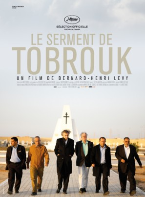 Le serment de Tobrouk - French Movie Poster (thumbnail)