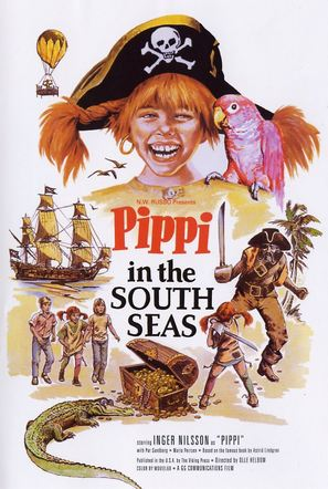 Pippi Långstrump på de sju haven - Movie Poster (thumbnail)
