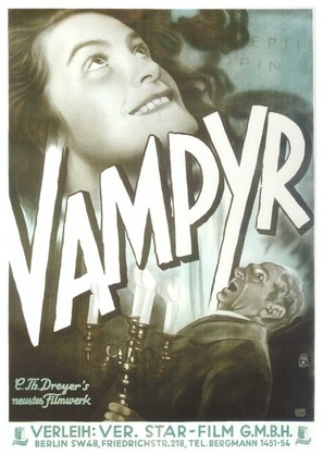Vampyr - Der Traum des Allan Grey - German Movie Poster (thumbnail)