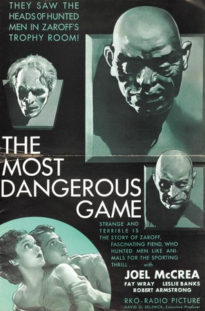 The Most Dangerous Game - Movie Poster (thumbnail)