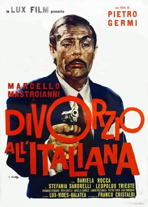 Divorzio all'italiana - Italian Movie Poster (thumbnail)