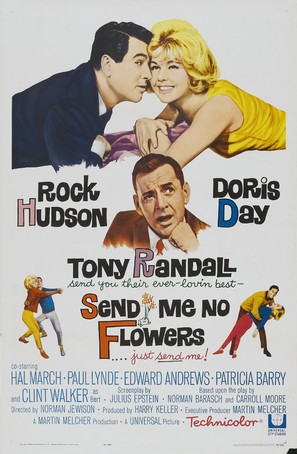 Send Me No Flowers - Movie Poster (thumbnail)