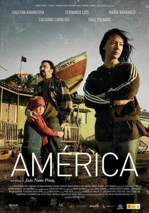 América - Portuguese Movie Poster (thumbnail)