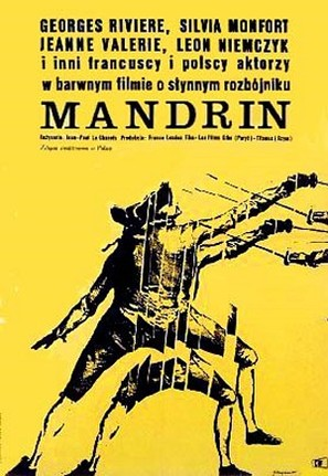 Mandrin - Polish Movie Poster (thumbnail)