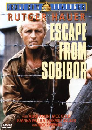 Escape From Sobibor - DVD movie cover (thumbnail)