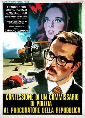 Confessione di un commissario di polizia al procuratore della repubblica - Italian Movie Poster (thumbnail)