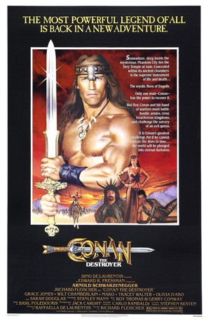 Conan The Destroyer - Movie Poster (thumbnail)