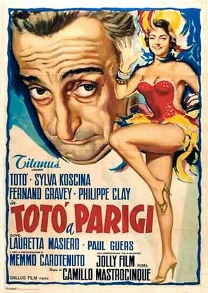 Totò a Parigi - Italian Movie Poster (thumbnail)