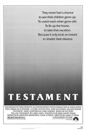 Testament - Movie Poster (thumbnail)