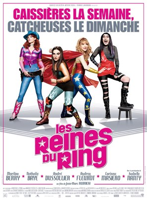 Les reines du ring - French Movie Poster (thumbnail)
