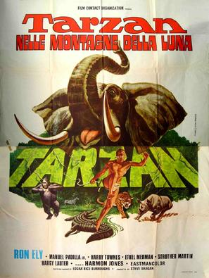 """Tarzan"" - Italian Movie Poster (thumbnail)"