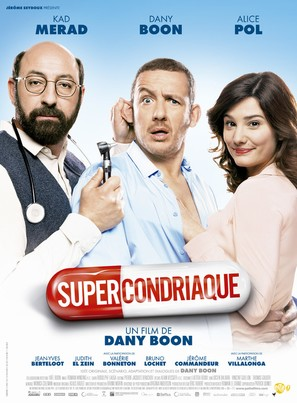 Supercondriaque - French Movie Poster (thumbnail)