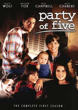 """Party of Five"" - DVD movie cover (thumbnail)"