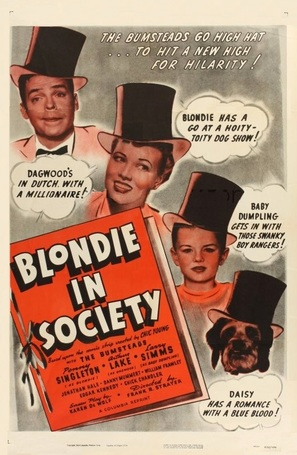 Blondie in Society - Movie Poster (thumbnail)