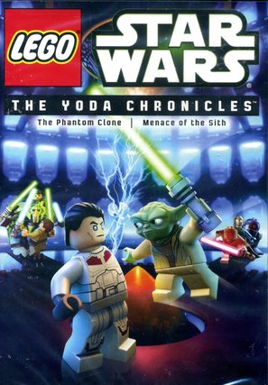 Lego Star Wars: The Yoda Chronicles - The Phantom Clone - DVD movie cover (thumbnail)