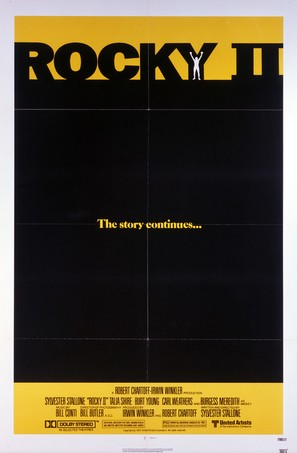 Rocky II - Movie Poster (thumbnail)