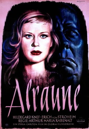 Alraune - German Movie Poster (thumbnail)