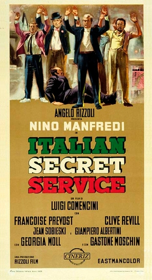 Italian Secret Service - Italian Movie Poster (thumbnail)