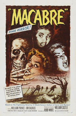 Macabre - Theatrical poster (thumbnail)