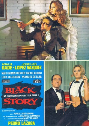 Black story (La historia negra de Peter P. Peter) - Spanish Movie Poster (thumbnail)