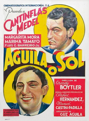 Águila o Sol - Mexican Movie Poster (thumbnail)