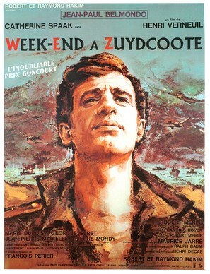 Week-end à Zuydcoote - French Movie Poster (thumbnail)