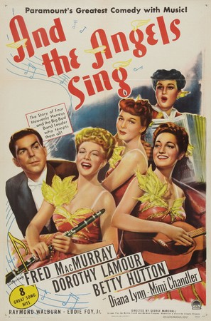 And the Angels Sing - Movie Poster (thumbnail)