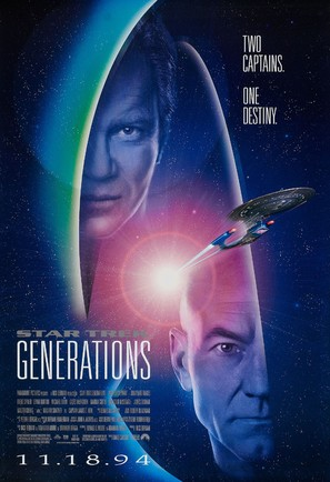 Star Trek: Generations - Movie Poster (thumbnail)