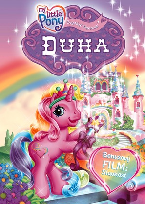 My Little Pony: The Runaway Rainbow - Czech DVD cover (thumbnail)