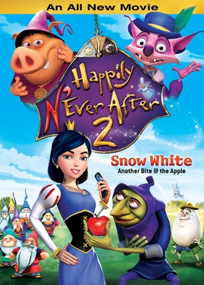 Happily N'Ever After 2 - DVD cover (thumbnail)