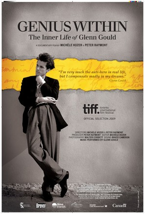 Genius Within: The Inner Life of Glenn Gould - Canadian Movie Poster (thumbnail)