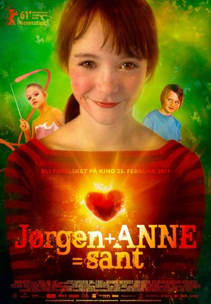 Jørgen + Anne = sant - Norwegian Movie Poster (thumbnail)