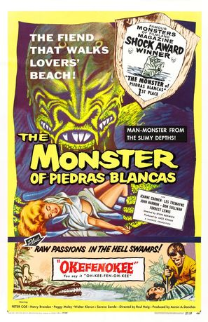 The Monster of Piedras Blancas - Combo poster (thumbnail)