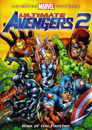 Ultimate Avengers 2: Rise of the Panther - DVD cover (thumbnail)