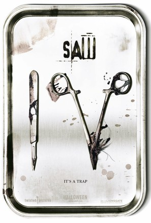 Saw IV - Movie Poster (thumbnail)