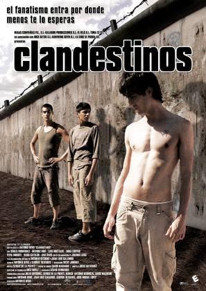 Clandestinos - Spanish poster (thumbnail)