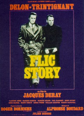 Flic Story - French Movie Poster (thumbnail)