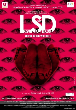 LSD: Love, Sex Aur Dhokha - Indian Movie Poster (thumbnail)