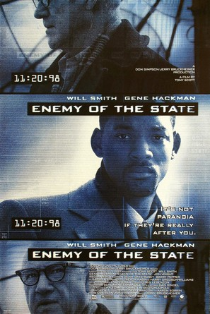 Enemy Of The State - Movie Poster (thumbnail)