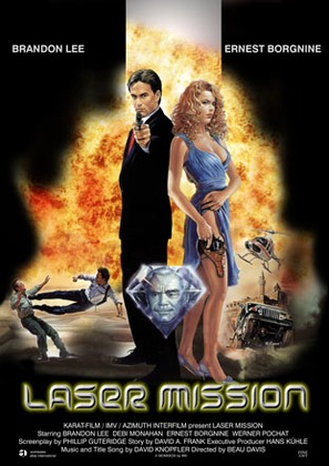 Laser Mission - Movie Poster (thumbnail)