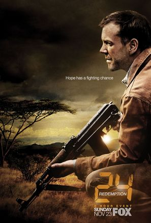 24: Redemption - Movie Poster (thumbnail)