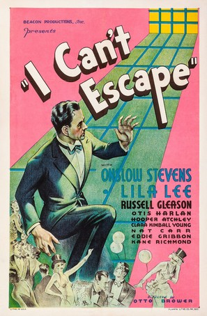 I Can't Escape - Movie Poster (thumbnail)